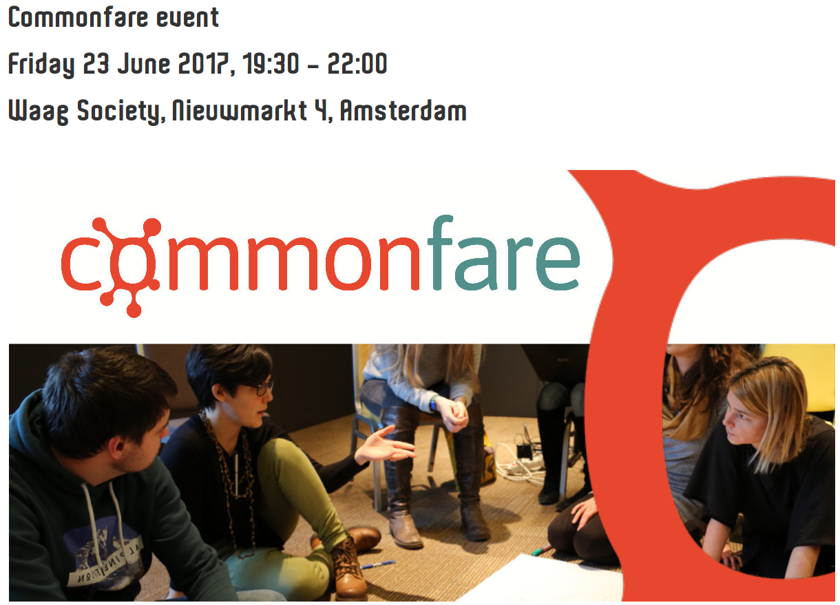 Commonfare event in Amsterdam